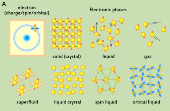Correlated Phases of Quantum Materials