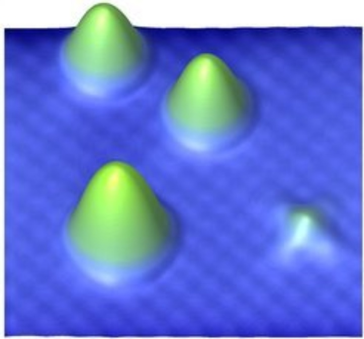 Magnetic atoms on a copper nitride surface (c) S. Loth