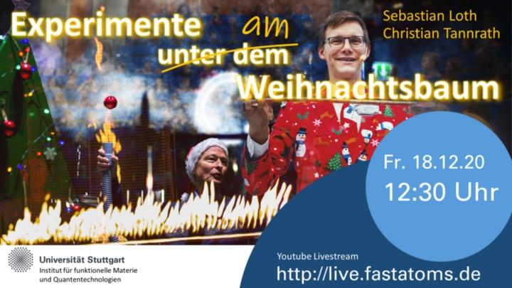 18.12.2020, 12:30 Uhr: Weihnachtsspecial